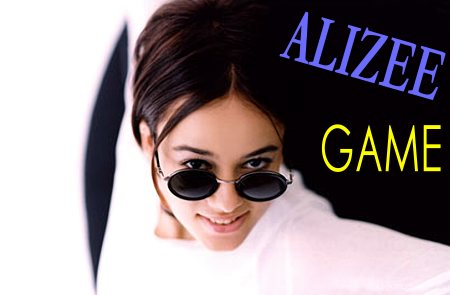 some simple & funny games about Alizee!
